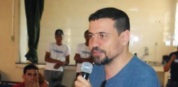 Faustini, no Batan, durante o 1o Ciclo da Agência de Redes para Juventude