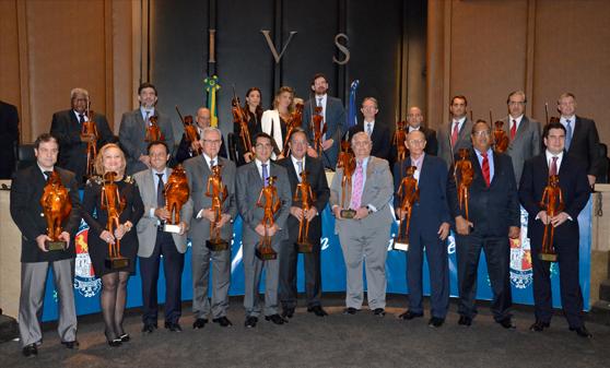 Agraciados do XXV Troféu Dom Quixote